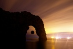 Durdle Door, Eclipse